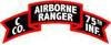 C Company, 75th Infantry (Ranger)